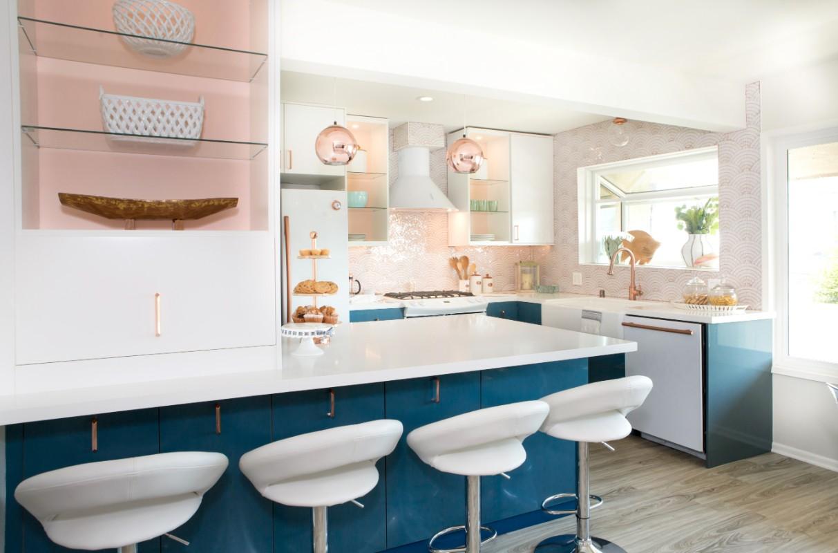 Condo Kitchen Hgtv Beach Condo Kitchen The Taylored Home Interior Design