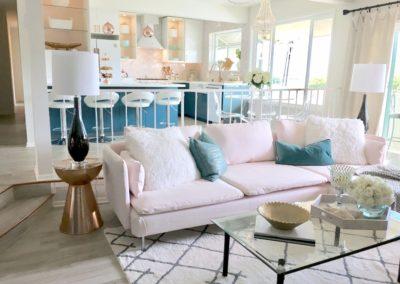 HGTV Beach Condo – Living Room