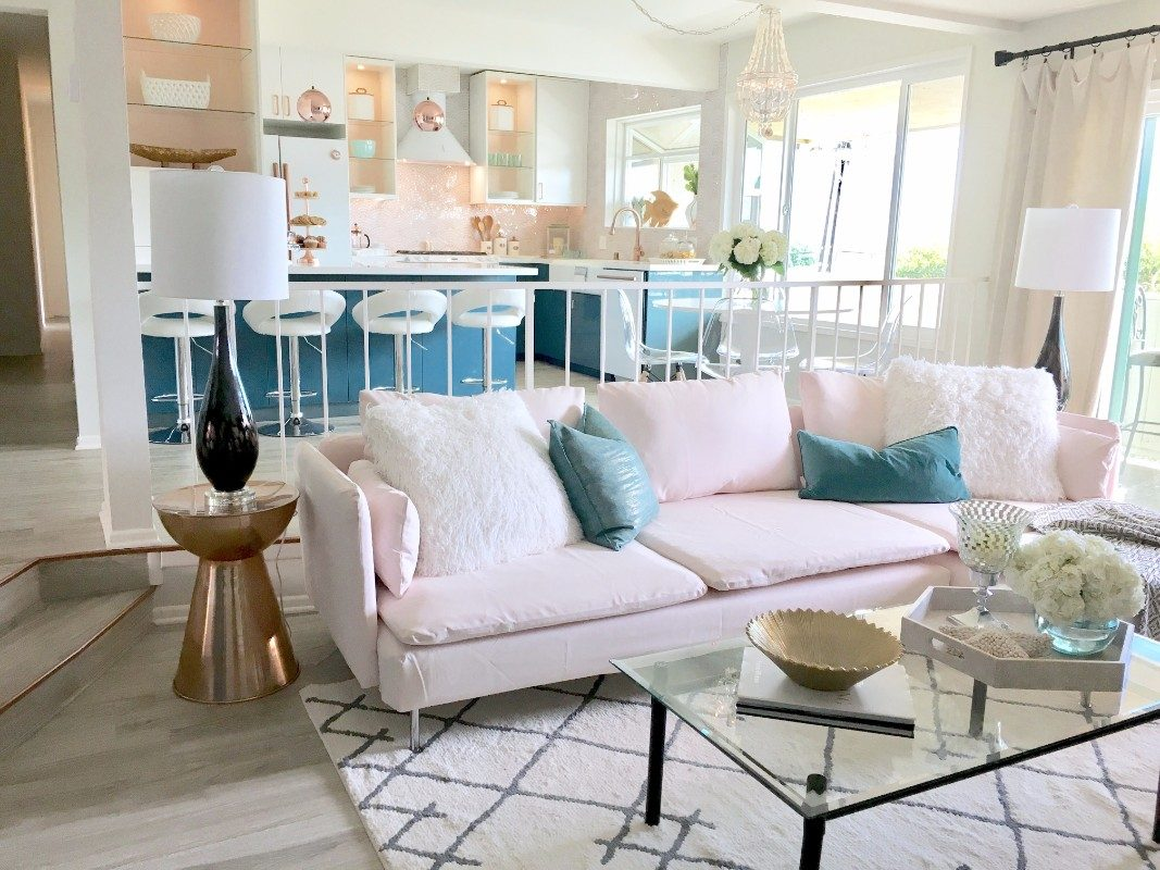 HGTV Beach Condo - Living Room - Marilynn Taylor DIY Design Coach