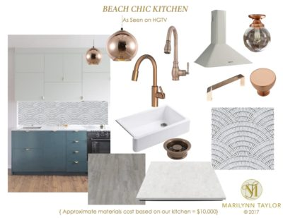 HGTV Beach Chic Kitchen cover
