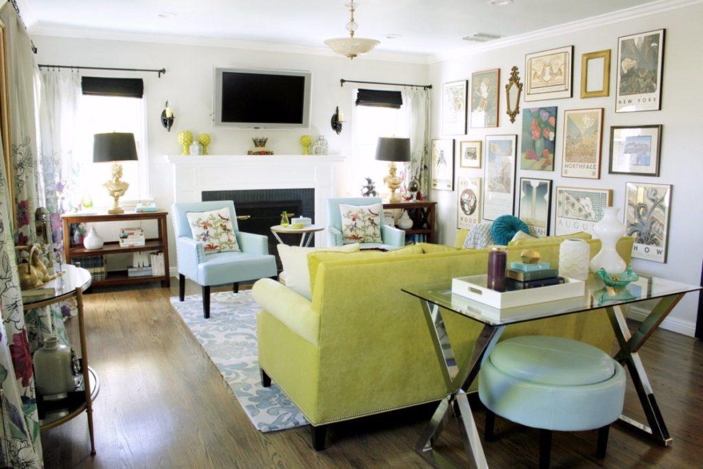 Pasadena house living room marilynn taylor design for The family room pasadena