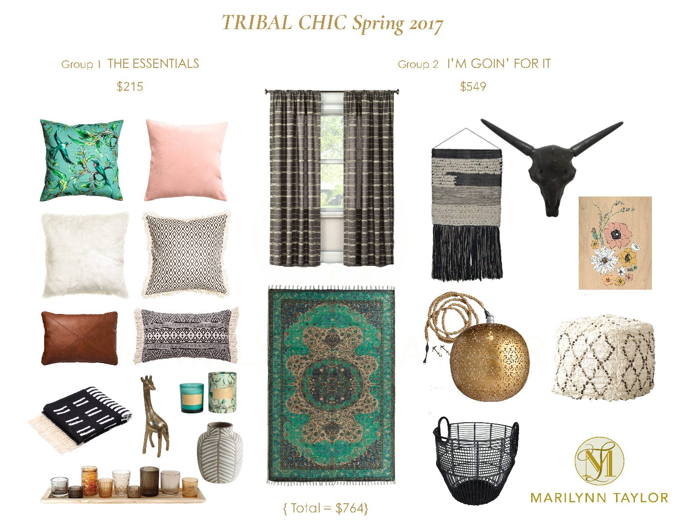 Tribal Chic Spring 2017 cover