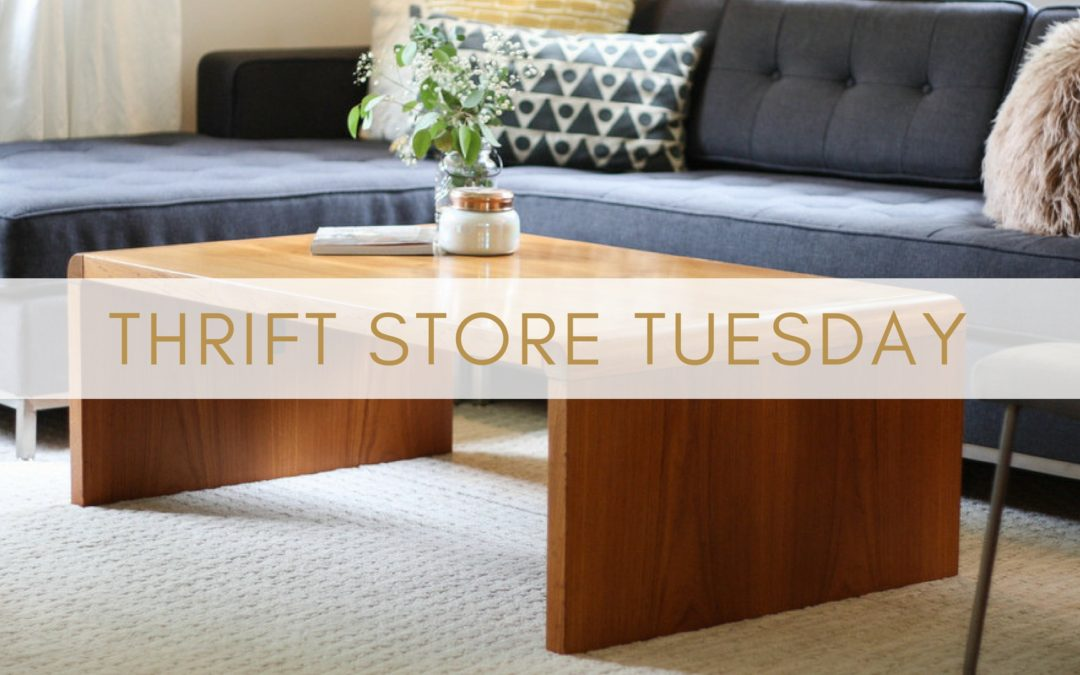 Thrift Store Tuesday Ep. 4- Mid Century Modern finds