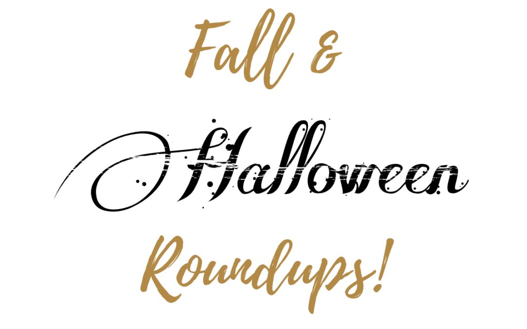 Fall & Halloween Decor Roundups!