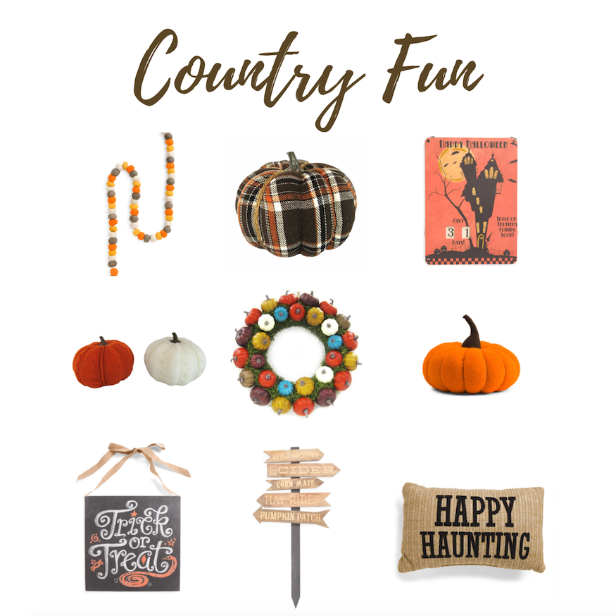 fancy, spooky, farmhouse, holiday, halloween