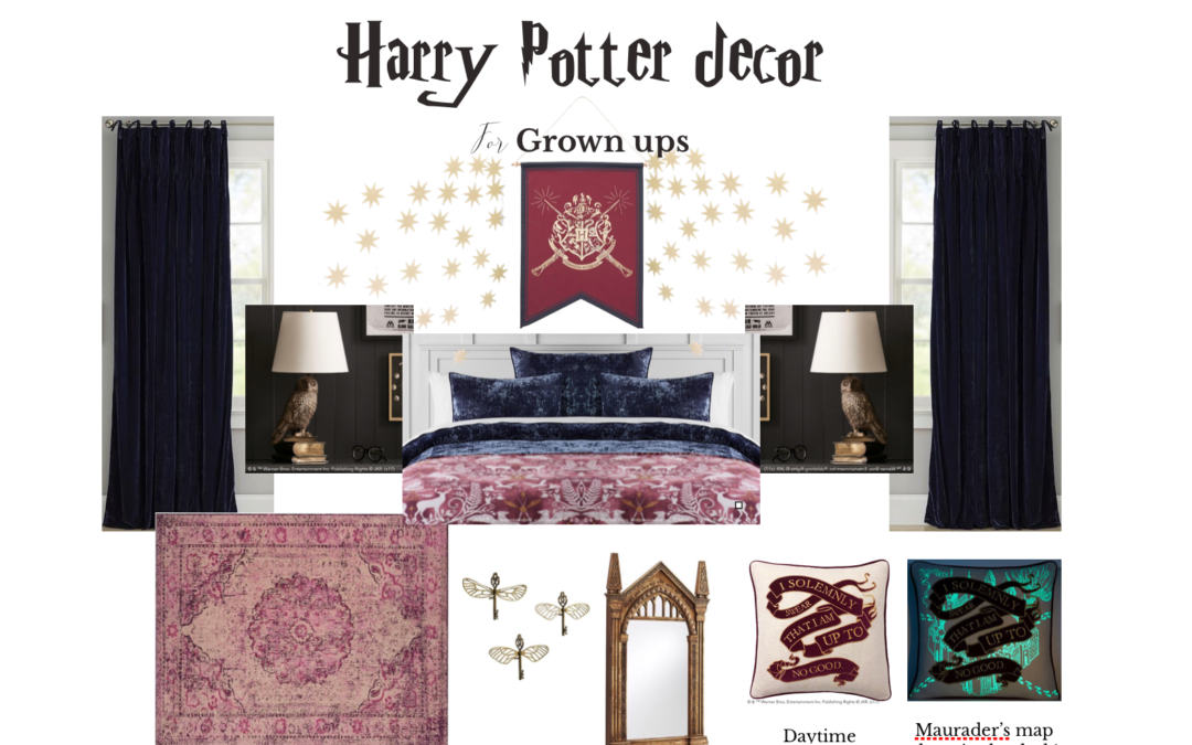 Grown Up Harry Potter Decor Marilynn Taylor Bnb Diy Design