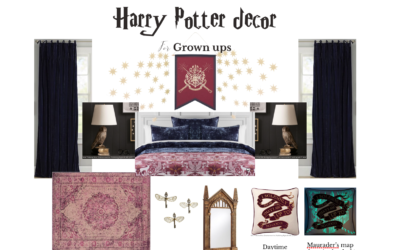 Grown up Harry Potter Decor!