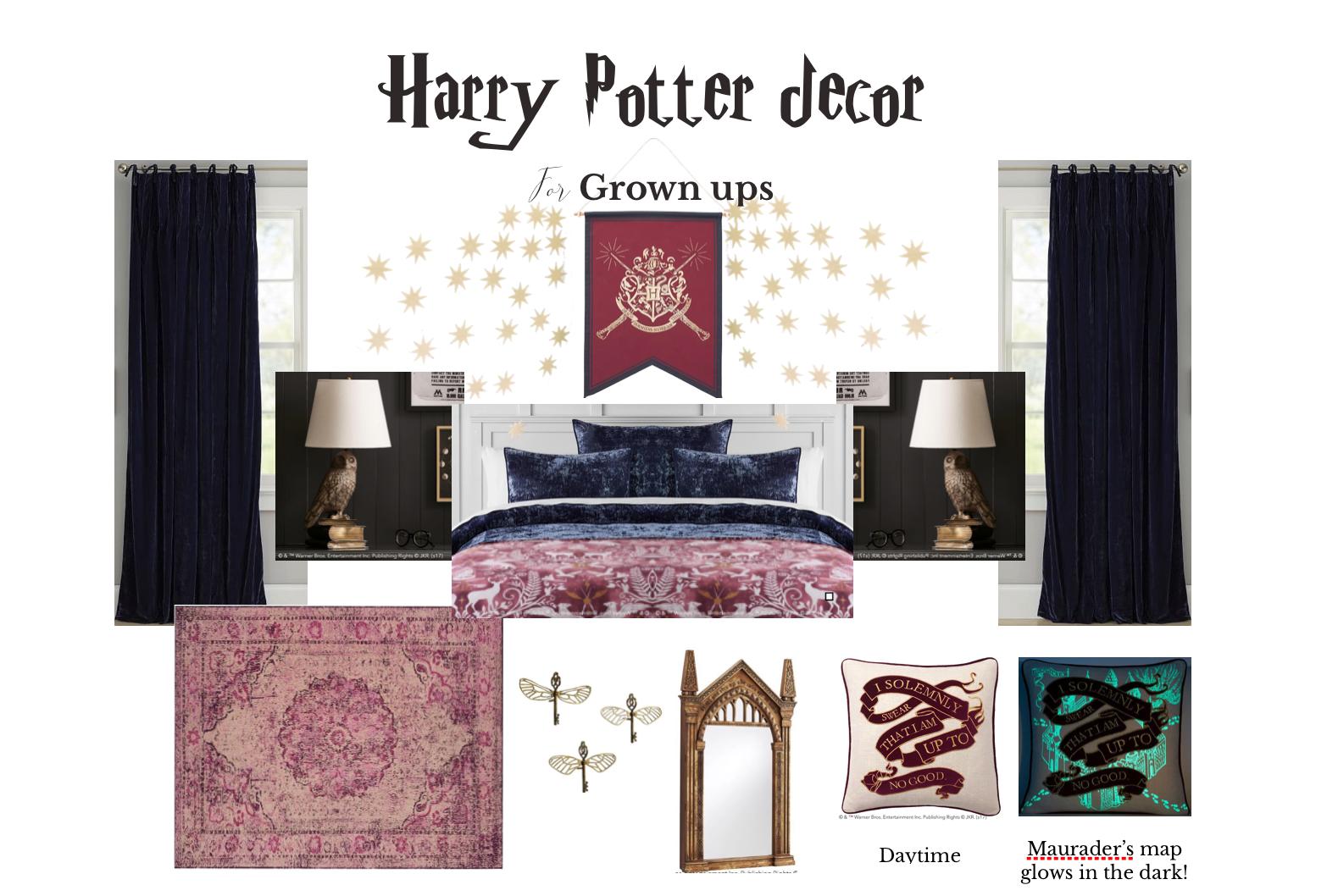 grownups, Harry potter fans, sophisticated, Marilyn taylor,