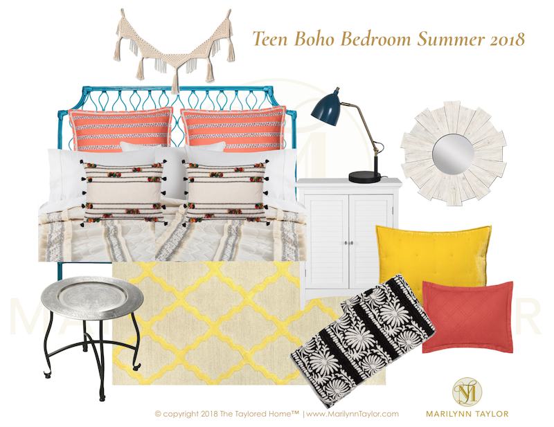 Marilyn Taylor, Marilynn Taylor, Bohemian, Boho, Bedroom, Teenager, Teen  Decor