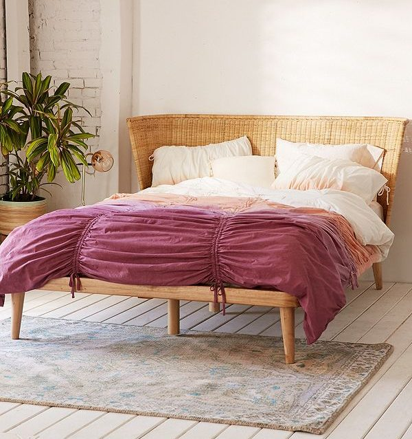 Splurge Vs. Steal - Bohemian Beds - Marilynn Taylor DIY ... on Modern Boho Bed Frame  id=71829